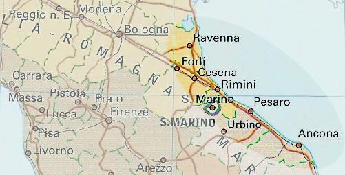 diaspora romagna marche